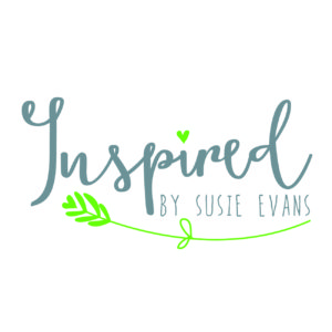 Inspired by Susie Evans logo